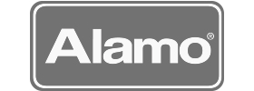 Image of the Alamo Rent A Car logo. Alamo was a client of Art Director and Designer Andrew Lee Smith